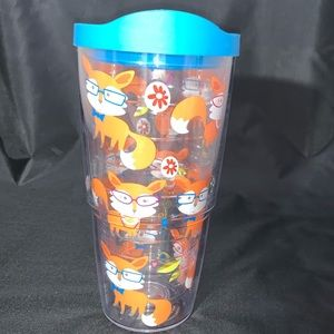 16 oz TERVIS TUMBLER WITH FOXES